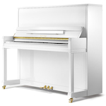 Kayserburg KHC6A KHC6 Upright Piano Polished White KHC6A112
