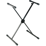 Ashton Keyboard Stand, Single Braced, Quick Release KSS98
