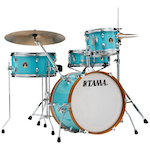 Tama LJK48SAQB Club-Jam 4-piece Shell Pack - Aqua Blue LJK48SAQB