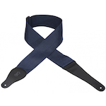 Levy's Guitar Strap, 3inch Poly Navy M8P3NAV
