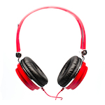 CAD MH100 Headphones Closed Back Studio Red MH100R