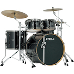 Tama Superstar Hyperdrive Maple 5-piece Drum Kit, Brushed Charcoal Black MK52HZBNSBCB
