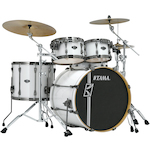 Tama Superstar Hyperdrive Maple 5-piece Drum Kit, Sugar White MK52HZBNSSGW