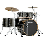 Tama Superstar Hyperdrive Maple 6-piece Drum Kit, Midnight Gold Sparkle MK62HZBNSMGD