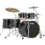 Tama Superstar Hyperdrive 5-piece Shell Drum Kit, Dark Mocha Fade ML52HLZBNSDMF