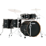 Tama Superstar Hyperdrive 5-piece Shell Drum Kit, Flat Black ML52HLZBNSFBK