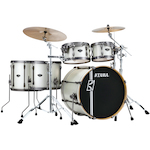 Tama Superstar Hyperdrive Maple 5-piece Drum Kit, Satin Arctic Pearl ML52HLZBNSSAP
