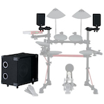 Yamaha DTX Electronic Drum Speaker System, 100w MS100DR