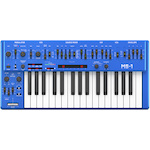 Behringer MS-101 Analog Synthesizer with Live Performance Kit (Blue) MS101BU