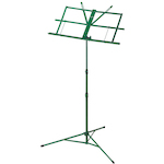 Ashton MS3127 Foldable Music Stand, Green MS3127GR
