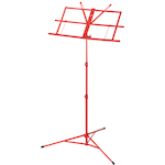 Ashton Foldable Music Stand, Red MS3127RD