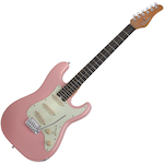 Schecter   Electric Guitar Nick Johnson Traditional Atomic Coral NJTRADAC