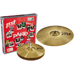 Paiste PST3 Cymbal Pack 14 inch Hi Hats and 18 inch Crash/Ride PA063ES14
