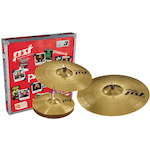 Paiste PST3 Cymbal Pack 14 inch Hi Hats, 16 inch Crash and 20 inch Ride PA063USET