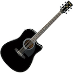 Ibanez PF15ECE Acoustic Electric, Black PF15ECEBK