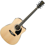 Ibanez PF15ECE Acoustic Electric, Natural PF15ECENT
