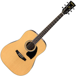 Ibanez Acoustic Guitar, Natural PF15NT