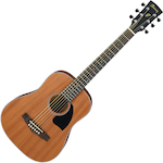 Ibanez Acoustic Guitar 3/4 Size, Natural PF2MHOPN