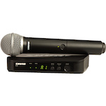 Shure BLX24/PG58 Wireless Vocal System with PG58 PG24PG58