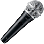 Shure Vocal Mic w/Switch PGA48XLR