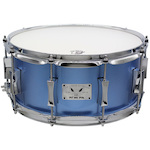 Pork Pie Little Squealer 14x6.5 Mahogany Poraro Blue Metallic Snare Drum PP65X14BMPB