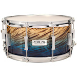 Pork Pie USA 14x7 Blue Fade Dip Snare Drum PP7X14BFD