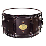 Pork Pie USA 13x7 Little Squealer Black Hardware Snare Drum PPSQ13X7BLK