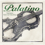 Palatino Perlon Core 4/4 and 3/4 Violin Strings PSPA011VNF