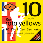 Rotosound Electric Guitar Strings 10-46 R10