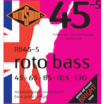 Rotosound 5-String Bass Strings 45-130 Nickel RB455