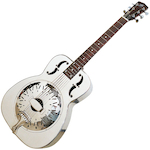 Recording King Resonator Guitar, Bell Brass RM998D