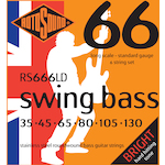 Rotosound 6-String Bass Strings 35-130 Stainless Steel RS666LD