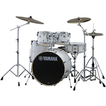 Yamaha Stage Custom Birch Drum Shell Kit, Pure White SBP0F5PW
