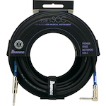 Ibanez Guitar Cable 20 Foot Angle, Switchcraft SCC20L