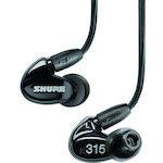Shure Sound Isolating Earphones Black SE315BLK