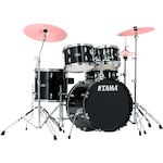 Tama Stagestar 5-piece Jazz Kit, Black SG50H6BK