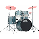 Tama Stagestar 5-piece Jazz Kit, Charcoal Silver SG50H6CSV