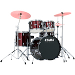 Tama Stagestar 5-piece Jazz Kit, Wine Red SG50H6WR