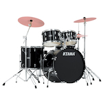 Tama Stagestar 5-piece Rock Kit, Black SG52KH6BK