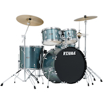 Tama Stagestar 5-Piece Rock Drum Kit, Silver SG52KH6CCSV