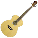 Ashton SL20EQ Slimline Acoustic Electric Natural SL20EQNTM