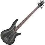 Ibanez SRA Bass Guitar Carved Top, Transparent Black SRA500TK
