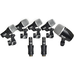 CAD Microphone Drum Pack Dynamic Cardioid 3xD29 2xC9 1xD19 1xD10 STAGE7
