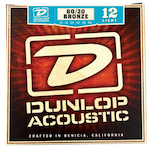 Dunlop DAB1254 Acoustic Bronze Strings L 12-54 STDDAB1254