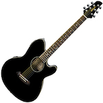 Ibanez TCY10E Talman Acoustic/Electric, Black TCY10EBK