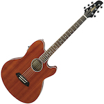 Ibanez Talman Acoustic/Electric Guitar, Open Pore Natural TCY12EOPN