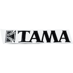 Tama Logo Sticker, Black TLS100BK