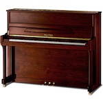Kayserburg Upright Piano 121cm, Walnut UH121A107