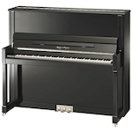 Kayserburg UH130 UH130 Upright Piano, Polished Ebony UH130A111