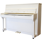 Beale UP115 Upright Piano White UP115M#12
